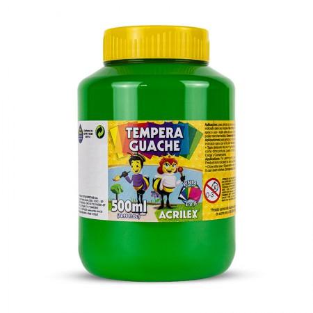 Tinta guache Verde Folha 500ml - 510 - Acrilex