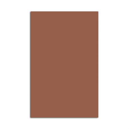 Placa de EVA 40X60cm - marrom - Seller