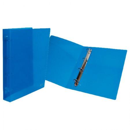 Fichário universitário com 4 argolas - 1042 - Azul - ACP