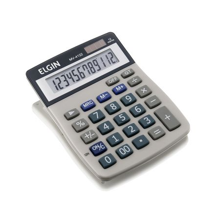 Calculadora de mesa 12 dígitos MV4122 - Elgin