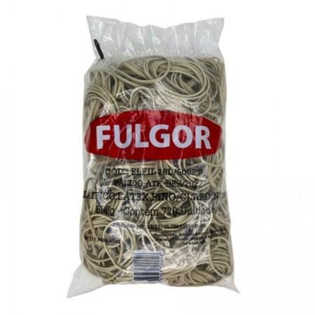 Elástico látex NR 18 Amarelo - pacote com 500g - Fulgor