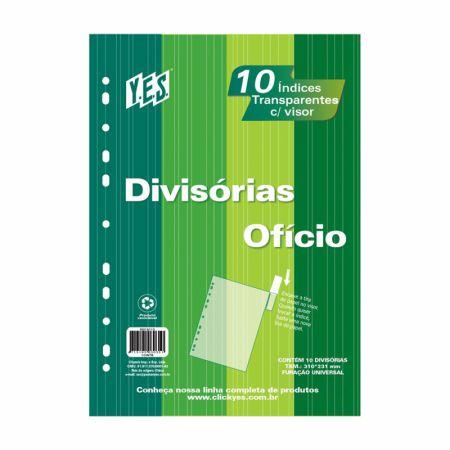 Divisória cristal OF - com 10 projeções - com inserção - 10INTB - Yes
