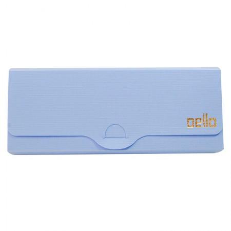Estojo escolar plastico Linho Serena - Azul pastel - 8800.BP - Dello