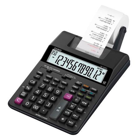Calculadora de Mesa Com Bobina 12 Digitos - HR-100C - bivolt - Casio