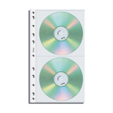 Refil porta CD duplo 1698 - com 10 unidades - Chies