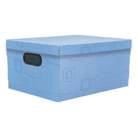 Caixa organizadora grande - azul - 2172.C - Dello