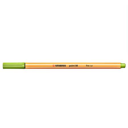 Caneta hidrográfica Fine Point 88/33 - Verde Maça - Stabilo