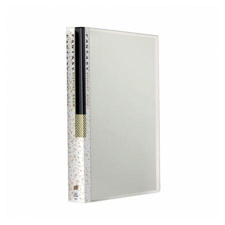 Pasta catálogo transparente - cristal - BS60 - com 60 plásticos - Yes