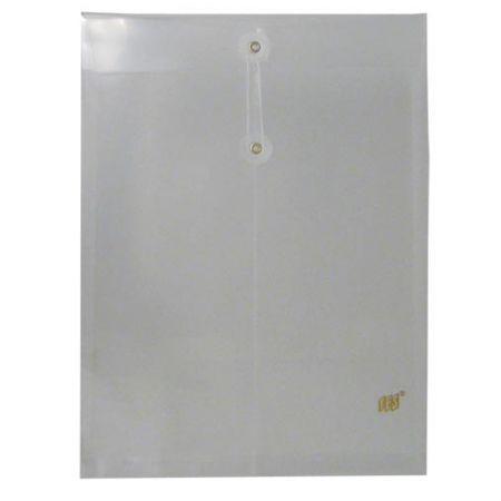 Envelope plástico com ilhós - cristal - EN01A - Yes