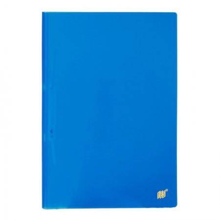 Pasta com grampo trilho ofício plástico - Transparente Azul - 112S.AZ - Yes