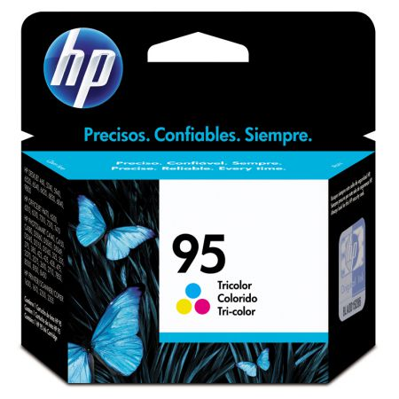 Cartucho HP Original (95) C8766WB - cores rendimento 260 páginas