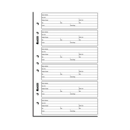 Refil índice telefônico 1702 - com 25 folhas - Chies