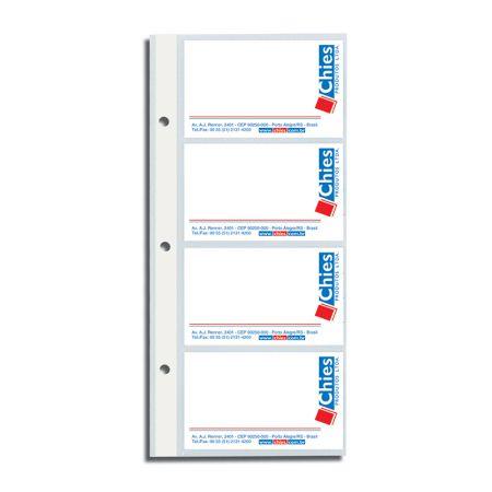 Refil porta cartão 1409 - pacote com 10 unidades - Chies