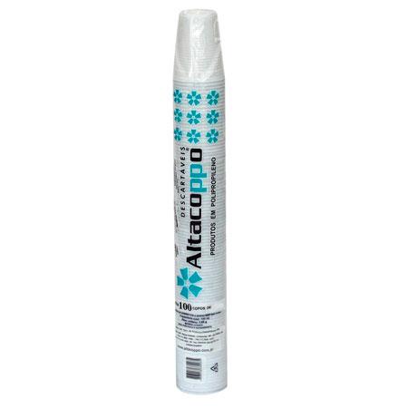 Copo plástico descartável 110ml - com 100 unidades - Altacoppo