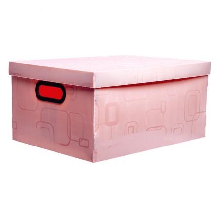 Caixa organizadora grande - rosa - 2172.Q - Dello