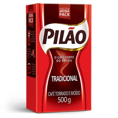 Café tradicional - pacote com 500g - Pilão