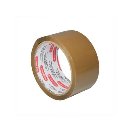 Fita para embalagem marrom - 48mm x 45m - Qualitape - Adelbras
