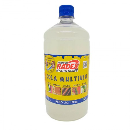 Cola líquida transparente Magic Slime - 1000 gramas - Radex