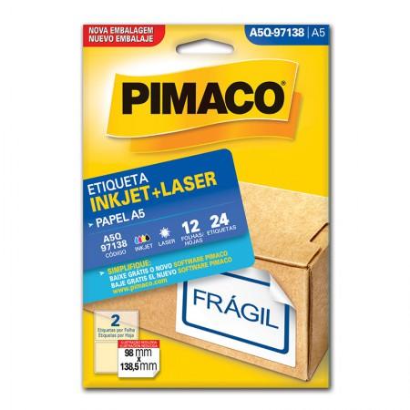 Etiqueta inkjet/laser A5Q97138 - Pimaco