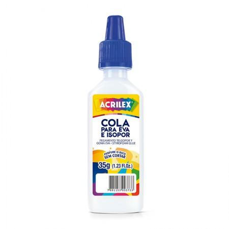 Cola para EVA e isopor 35g - Acrilex