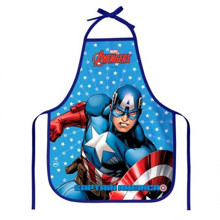 Avental infantil - 2785 - Capitão America - Dac