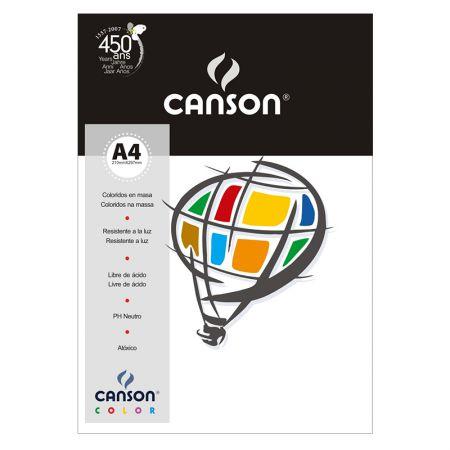 Papel Color Vivaldi A4 120g branco - com 15 folhas - Canson