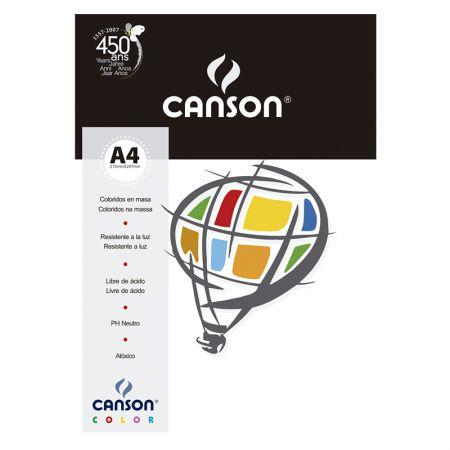 Papel Color Vivaldi A4 180g marfim - com 10 folhas - Canson