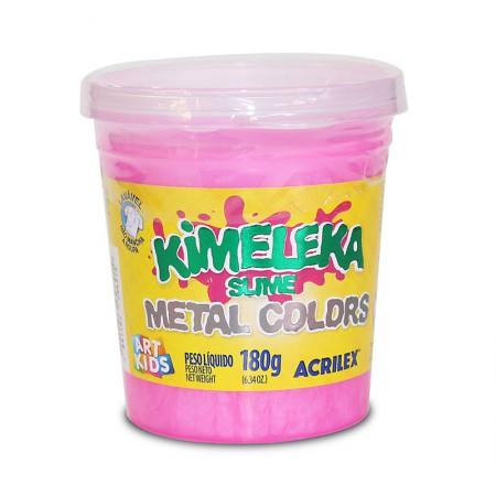 Kimeleka Art Kids metálica 180g - Rosa 672 - Acrilex