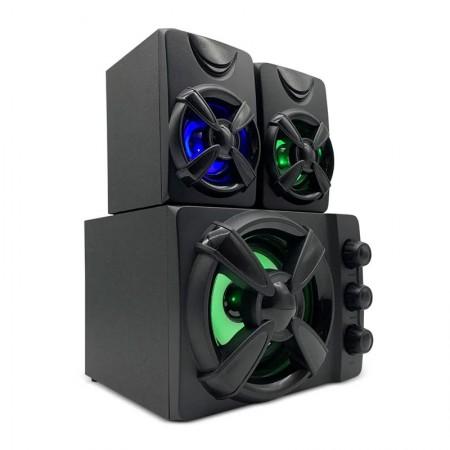 Caixa de Som 2.1 Gamer 30W RMS RGB - SP952 - Multilaser