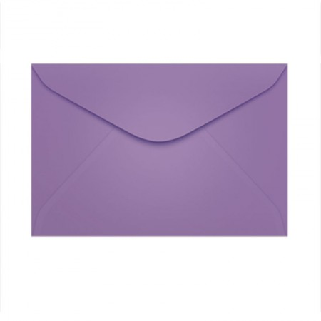 Envelope Color Plus Amsterdan 72x108mm - caixa com 100 unidades - Scrity