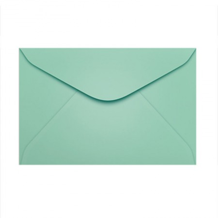 Envelope Color Plus Tahiti 72x108mm - caixa com 100 unidades - Scrity