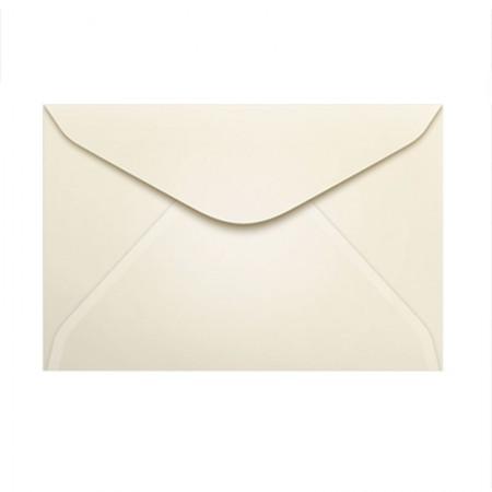 Envelope Color Plus Marfim 72x108mm - caixa com 100 unidades - Scrity