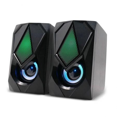 Caixa De Som 2.0 Gamer 12W RMS RGB - SP951 - Multilaser