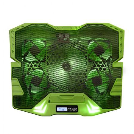 Cooler Gamer para notebook Warrior Zelda verde Led - AC292 - Multilaser