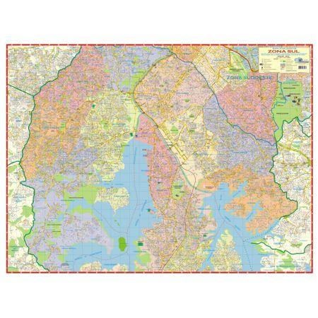 Mapa da zona sul de São Paulo - Multimapas