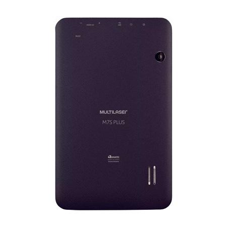 Tablet M7S plus quad core preto NB273 - Multilaser