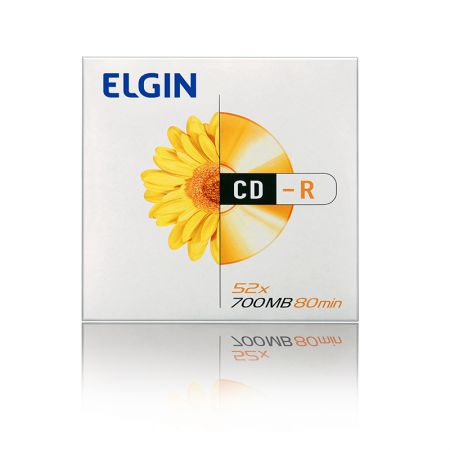 CD-R virgem 700MB 80 minutos - envelope - Elgin