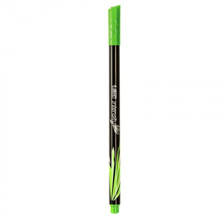 Caneta hidrográfica u/fina Intensity 04mm verde claro Bic