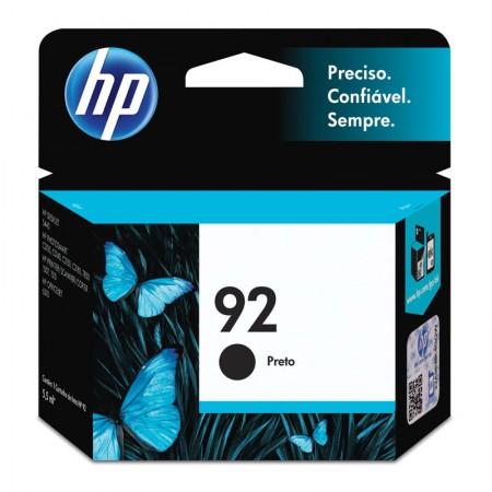 Cartucho HP Original (92) C9362WB - preto rendimento 220 páginas
