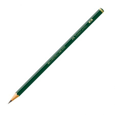 Lápis preto 8B - 9000 - unidade - Faber-Castell