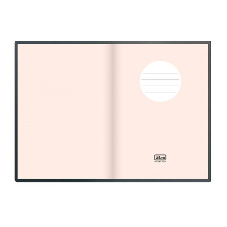 Caderneta capa dura 1/8 Fitto West Village metalizada - pontilhado - 80 folhas - Tilibra