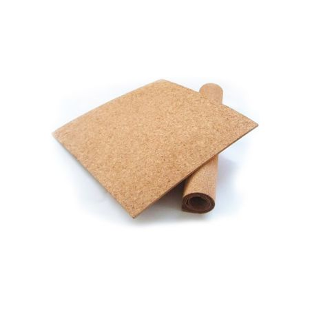 Folha de cortiça 450 x 600 x 0.4mm - rolo com 1 folha - Cortiarte
