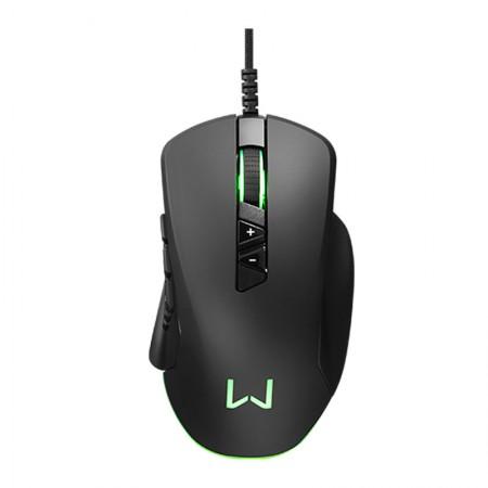Mouse USB Gamer Moray Personalizável Led Warrior 14 botões 10000DPI - MO278 - Multilaser
