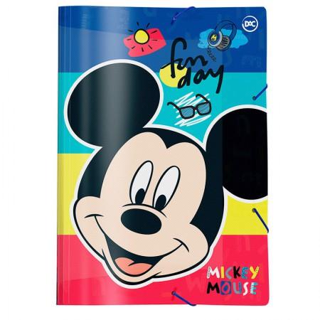 Pasta ofício com aba elástica - 2829 - Mickey - Dac