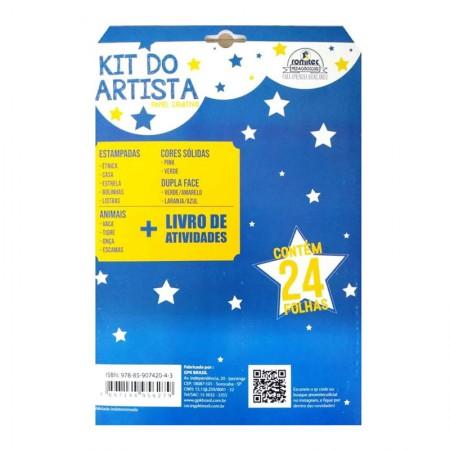 Kit do artista - com 24 folhas - Romitec