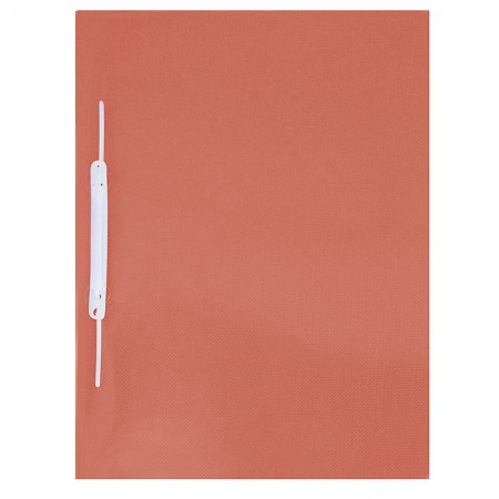 Pasta com grampo trilho ofício plástica - Vermelha - 1039.VM - ACP
