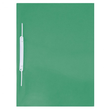 Pasta com grampo trilho ofício plástica - Verde - 1039.VD - ACP