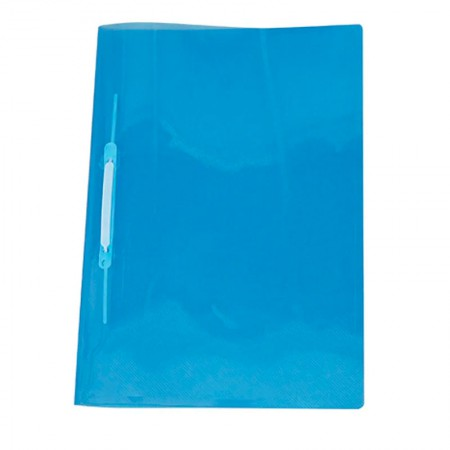 Pasta com grampo trilho ofício plástica - Azul - 1039.AZ - ACP