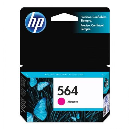 Cartucho HP Original (564) CB319WL - magenta rendimento 300 páginas