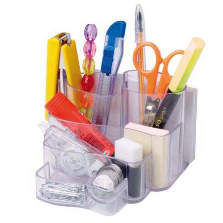 Porta lembrete/lápis/clips - cristal - 3005.H - Dello